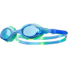 TYR Swimple Tie Dye Svømmebriller Børn blå